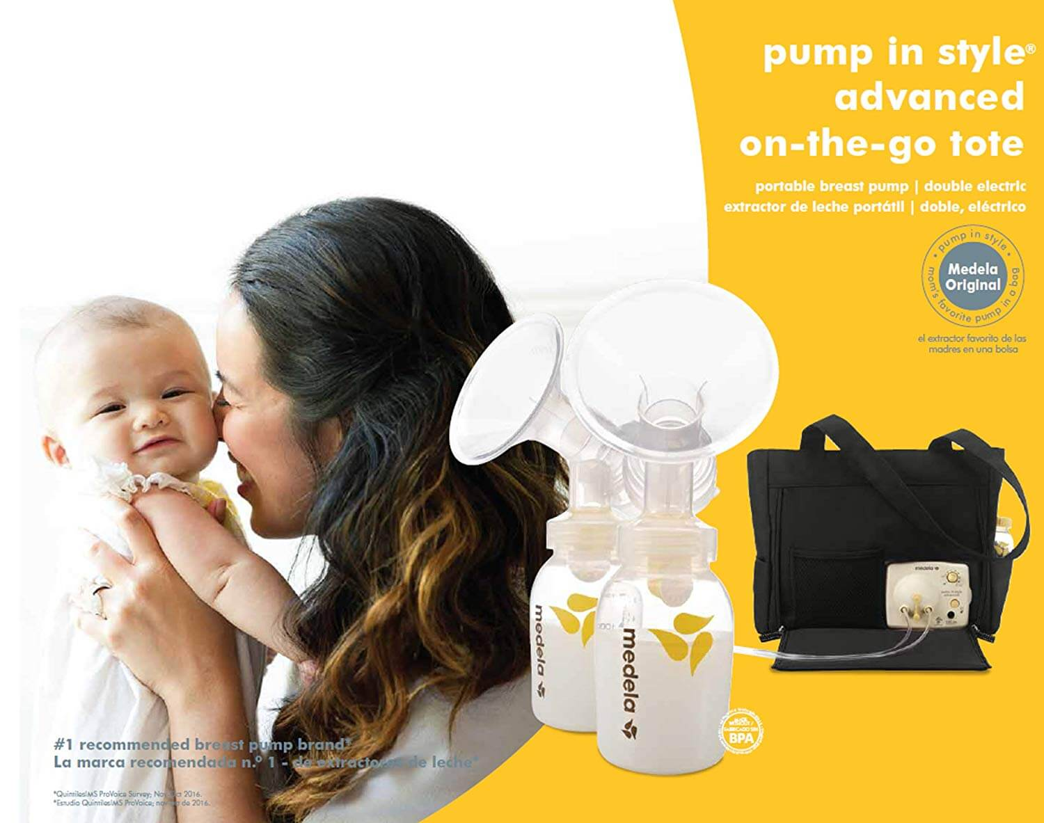 01ae15d3a33 ... with one-touch button and 2 PersonalFit Breast Shield sizes enable  every mother to experience comfortable and easy breastfeeding