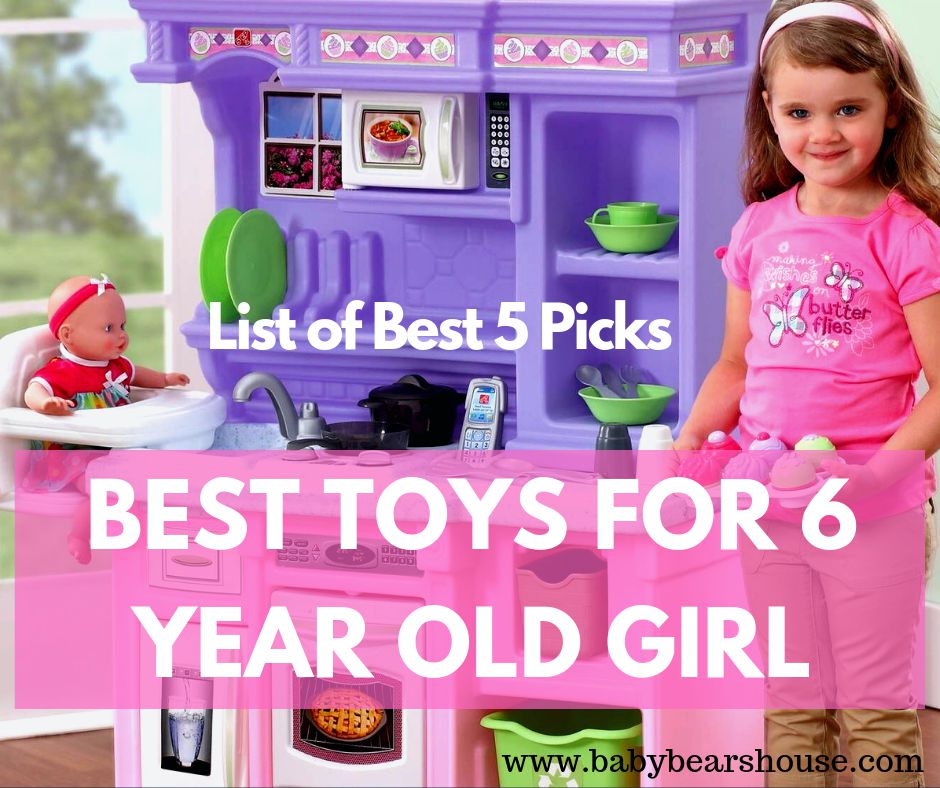 Best Gifts for 6 Year Old Girl