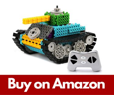 PACKGOUT Remote Control Building Kits for Boy Gift- STEM Toys