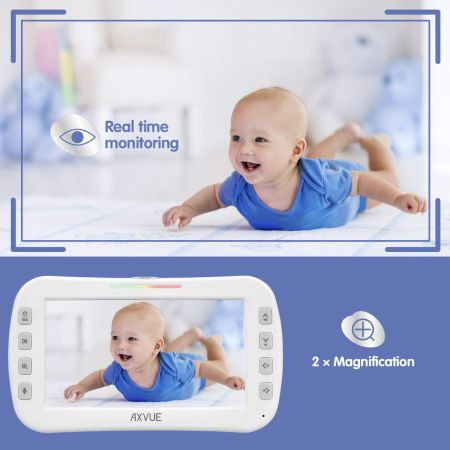 Babysense Video Baby Monitor with 2 Digital Cameras Review Review