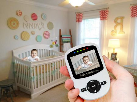 Babysense Video Baby Monitor with 2 Digital Cameras Review