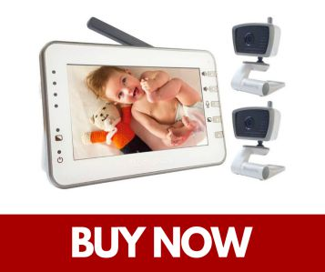 Moonybaby Video Baby Monitor with 2 Cameras