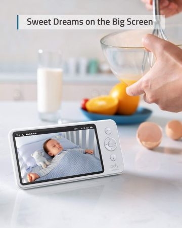 eufy spaceview baby monitor extra camera